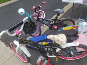 Girls kids bikes