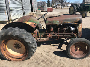 Ford tractor - restoration project