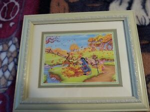 Winnie the Pooh Glass Wall Pictures