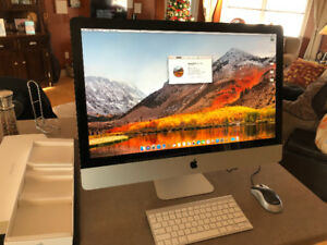 "2011 27""  Apple iMac i7 - 16gb / SOLD AS IS"