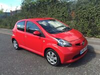 *** 2008 VERY LOW MILAGE TOYOTA AYGO 1.0 FSH CHEAP TO INSURE+TAX*** £2490! *FINANCE+WARRANTIES*