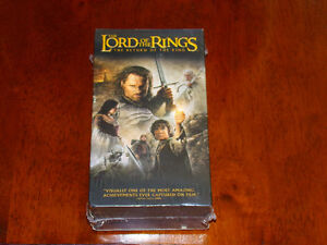 NEW VHS Lord Of The Rings The Return Of The King