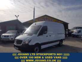 2015 15 MERCEDES-BENZ SPRINTER 313 CDI M.W.B HITOP 2015/15 REG ONLY 83000 MLS 1