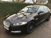 Jaguar XF 2.2 Diesel SE Business 163PS (black) 2012