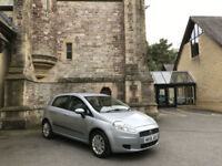 2006/56 Fiat Grande Punto 1.4 Dynamic Automatic 5 Door Hatchback Blue