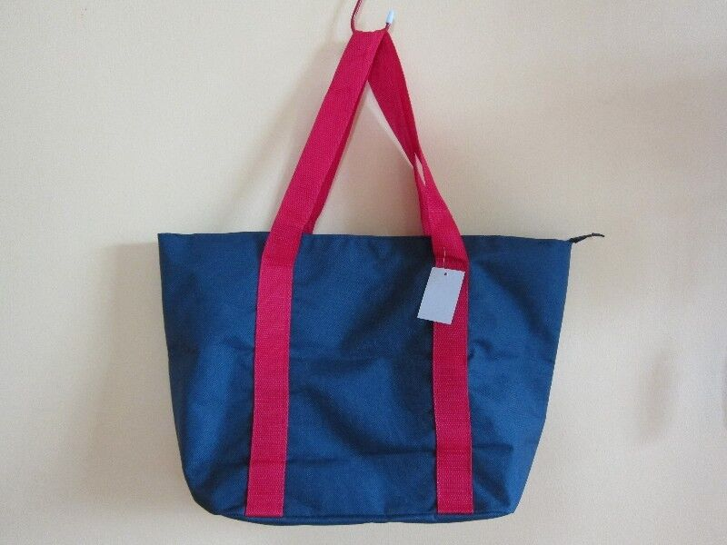 Blue/Red Tote Bag