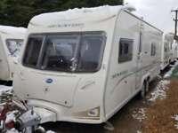 2008 Bailey Senator Wyoming 4 Berth Fixed Bed Twin Axle End Washroom Caravan