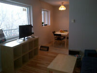 Furnished room in 3 bedroom 1 bath - near Queens