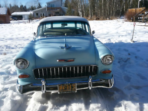 55 chev wagon for sale