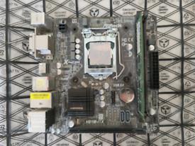 Asrock H81M-itx + 8gb RAM + CPU PENTIUM G3258 + COOLER