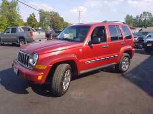 2006 jeep liberty limited leather 4x4 cert etested