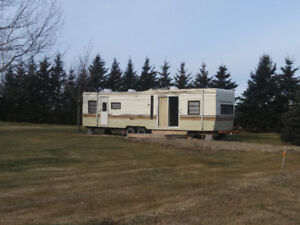 Camper for rent on private lot minutes from Aboiteau Beach
