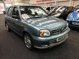 2001 NISSAN MICRA 1.4 SE 5dr Auto From GBP2150+Retail package.