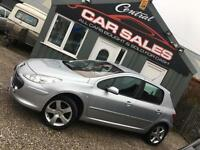 2007 PEUGEOT 307 1.6HDI ( 110bhp ) SPORT FINANCE & PARTX ARRANGED