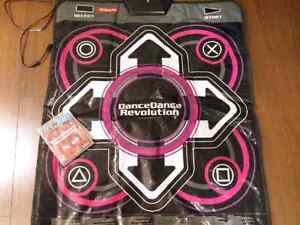 Dance Dance Revolution mat and game for PS3