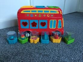ELC Shape Sorter Bus
