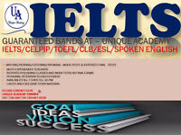 IELTS/CELPIP/CELBAN/SPOKEN ENG-GUARANTEED BANDS (4,5,6,7,8,& 9)