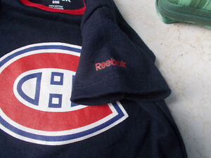 Montreal Canadiens Baby Diaper Shirt, Size 6/9 Months London Ontario image 3