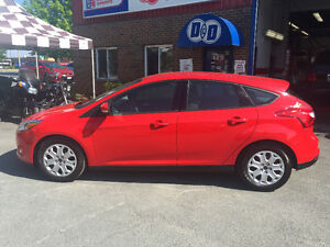 2012 Ford Focus SE Hatchback Immaculate Low Km's