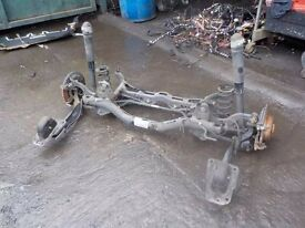 Mk7 golf rear axle complete