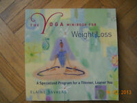 BOOKS ON YOGA, KNITTING, AND STAMPING & COOKING.. GREAT GIFTS!!!