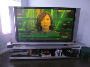 "60"" Sony TV SXRD XBR with stand"