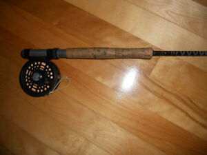 Canne moulinet a mouche Mitchell, Fly rod and reel