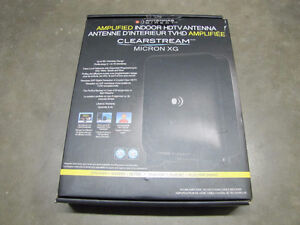 Amplified indoor Digital TV antenna ClearStream Micron XG