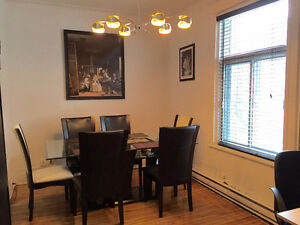 Renovated ground floor 4 1/2 appartment in Verdun
