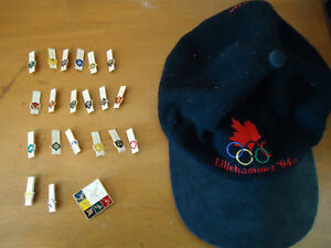 1980 Olympic pins