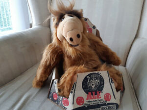 Vintage 1986 Alf Plush Toy