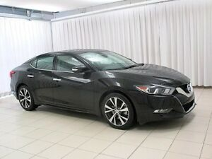 2017 Nissan Maxima SV LEATHER SUNROOF AND NAVIGATION!!