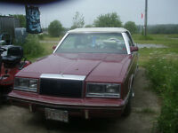 For Sale 1983 Chrysler Le Baron