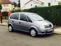 2006 Vauxhall Meriva 1.4, Long MOT, Low Miles, Only 1 Former Keeper, Cheap For Insurance, 5 Door MPV