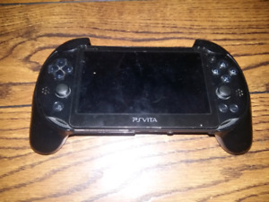 Sony playstaion vita with gaming grip
