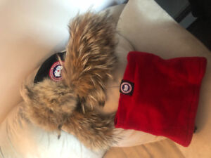 Canada Goose winter hat and neck warmer only 50 bucks for both!!