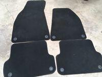 Audi A4 B7 interior carpet floor mats genuine Audi , in dark grey colour s line 05-08 models