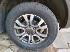 Ford ranger wildtrack tyres and rims