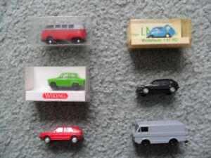 Wiking toy cars, not Dinky, not Lesney
