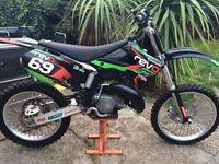 2002 kawazaki kx 125