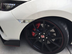 Clear Civic Side Markers (fits: 2016-2018) with free LED