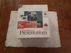 WORD Perfect Presentation for Microsoft PC DOS in MINT condition