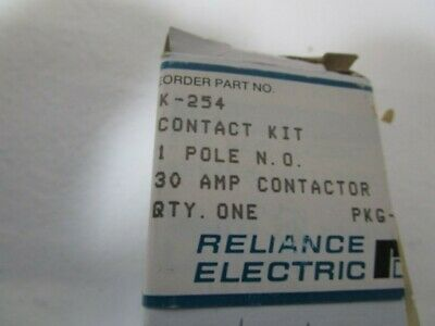 Reliance Electric Contact Kit K-254 New In Box