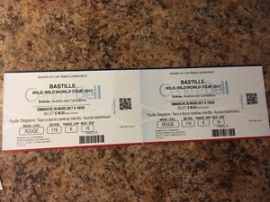 Bastille Bell Centre 80$ for both