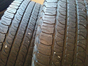 Goodyear Fortera H/L- 245/60/R18 - Good Tires Two left - $80 Windsor Region Ontario image 1