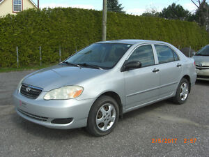2006 toyota corolla ce,AUTOMATIQUE,VISA,MASTER,IMPECABLE
