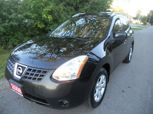 2008 Nissan Rogue SUV  loaded  ,  5495 certified