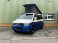 VW T5 Camper Van, Retro Two-Tone Campervan, Camper Van,