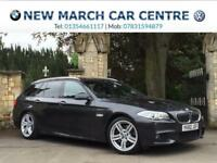 2010 BMW 5 Series 525d M Sport Touring 5dr Step Auto 6 cylinder 5 door Estate