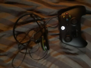 Xbox one controller and headset 60$